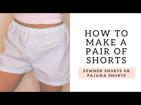 HOW TO: Make a Pair of Shorts! | SEWING WITH KEY