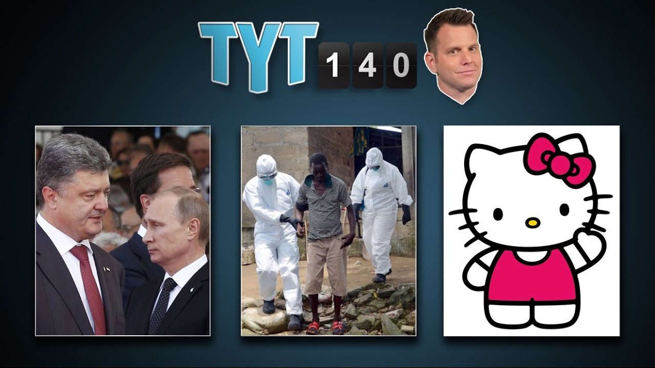 Ukraine Crisis, Banks Hacked, CEO Kicks Puppy & Hello Kitty Shocker | TYT140 (August 28, 2014) thumbnail