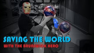 Brunswick Hero Bowling Ball Review w/ Wesley Low and Packy Hanrahan