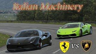 Lamborghini Huracan vs Ferrari 488 GTB