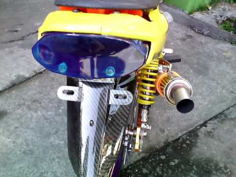 Video Modifikasi vega r 2007 ( terkeren NO. 1 ) airbrush + chrome body & mesin + modif lampu, knalpot cha,