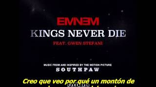 Eminem - Kings Never Die (Subtitulado al español) (Audio original)