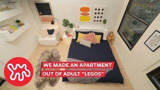 We Made An Apartment Out Of Adult Legos | Apartment Therapy