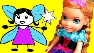 Tooth FAIRY ! ANNA toddler CAN'T find her tooth ! Will she find and place it under the pillow?