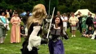 Chelsea Mansion Renaissance Faire Sword Fighting