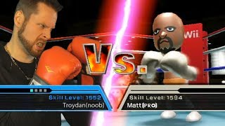 so I tried to become a Wii Sports Boxing Champion..