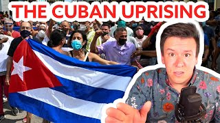 THE CUBA UPRISING! Let's Talk About Who What When Where Why #shorts