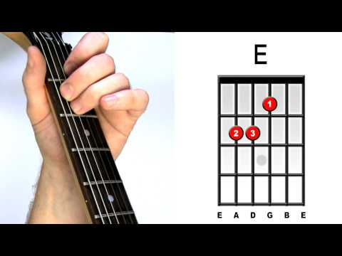 How To Play E major - Guitar Chords for Acoustic & Electric