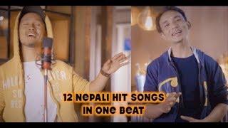 12 Nepali Hit Songs On 1 Beat || Chhewang Lama X Sanjeet Shrestha ||