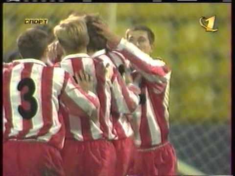 1998 (October 1) Lokomotiv Moscow (Russia) 3-CSKA ...