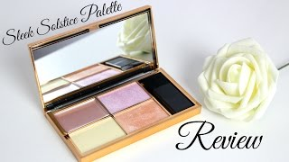PRODUKTTEST: SLEEK SOLSTICE HIGHLIGHTING PALETTE   Swatches+Review