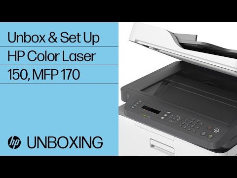 video tren tay may in laser mau hp color laser 150nw 4zb95a