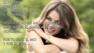 Olvidame - Thalía (Amore Mio) [lyric video] 2014