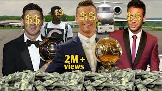Top 5 Richest Football Players In The World 2021