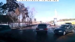 Осторожно дебилы за рулем!!!