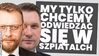 USZI Mimo zakazu Łukasz Szumowski i Przemysław Czarnek odwiedzili bliskich w szpitalu! Analiza sytuacji