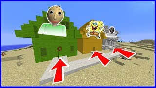 JAKÝ BARÁK SI VYBERU V MINECRAFTU? | (Baldi, Spongebob, Babička GRANNY)