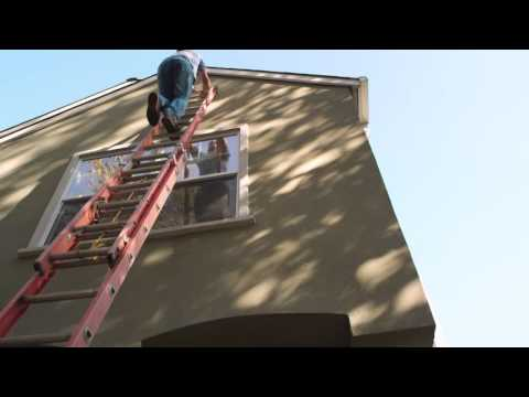Ladder Safety - Ladder Related Injuries - gutter cleaning system - Clogged Gutters