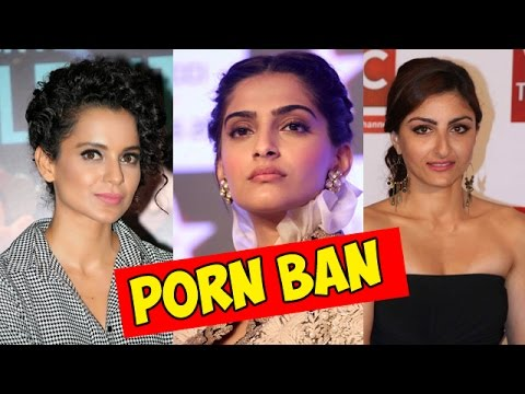 Watch ► Bollywood REACTS To PORN BAN | Sonam Kapoor, Kangana Ranaut