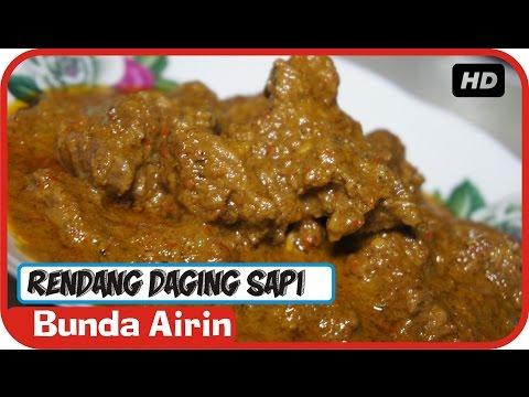Video Rendang Daging Sapi Resep Masakan Tradisional Indonesia - Bunda Airin