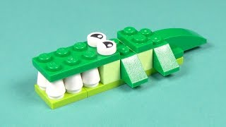 Lego Crocodile Building Instructions - Lego Classic 10708 How To