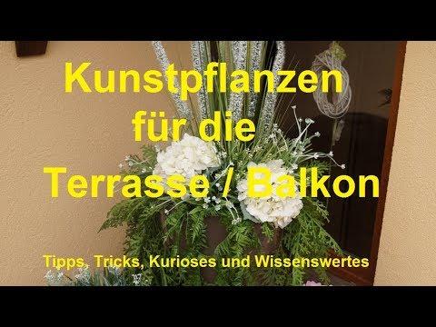 Dekorative künstliche Pflanzen Terrasse Balkon Garten Wohnung Kunstpflanzen Buchsbaum Hortensie