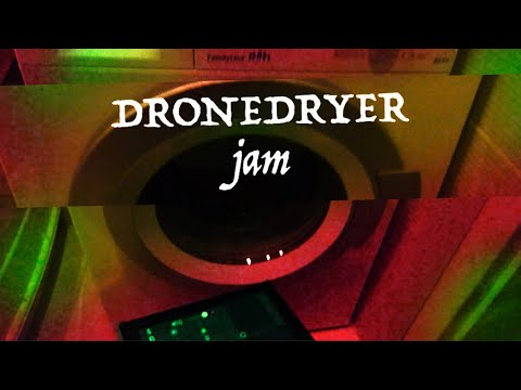 DRONEDRYER STONED JAM - CIRCUIT + MININOVA + SP606 + MONOTRIBE + MONOTRON + SAMPLR FOR IPAD