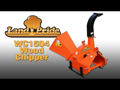 2019 Land Pride WC1504 Wood Chipper in Beaver Dam, Wisconsin - Video 1