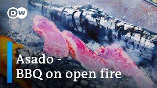 Asado - BBQ On Open Fire   Austrian Chefs Mastering Outdoor Grill Trend   DW Euromaxx