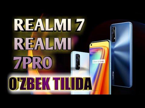 REALMI 7/REALMI 7 PRO -O'ZBEK TILIDA/REDMI K30 ULTRANI CHANGIDA QOLDIRADI/ MANA SIZGA O'YINBOP TEL