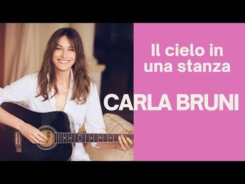 """Carla Bruni """"Il cielo in una stanza"""""""