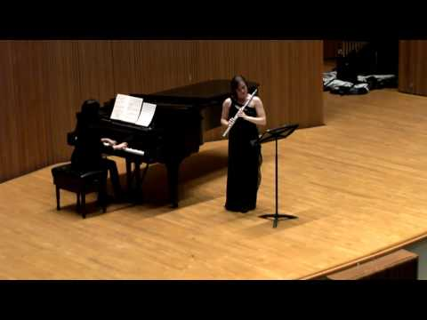 Mozart Flute Concerto in G Major, performed at Oberlin Conservatory