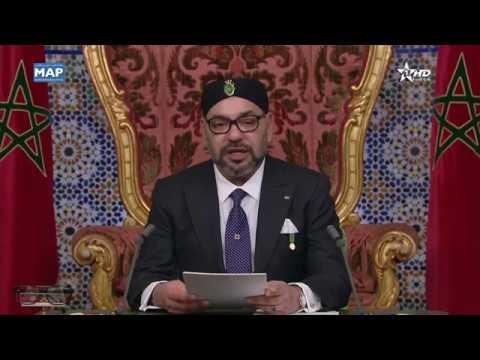 """جلالة الملك يجدد استعداد المغرب ل """"الحوار المباشر والصريح"""" مع الجزائر"""