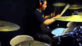 """DISGORGE - Womb Full Of Scabs """"Drum Cover"""" By Arief Digging Up"""
