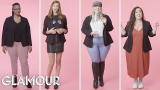 Women Sizes 0 to 28 on What They Wear to Feel Confident   Glamour
