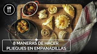 Cómo convertir las empanadillas en delicatessen aprendiendo a hacer preciosos pliegues o repulgues