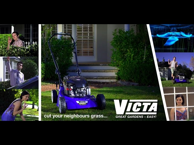 VICTA cut your neighbours grass
