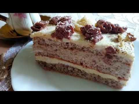 Хорватський горіховий торт - Один з Найсмачніших тортів в моєму житті!