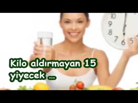 Kilo aldırmayan 15 yiyecek …
