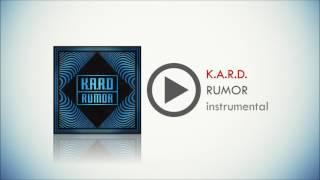 K.A.R.D. -  RUMOR instrumental version