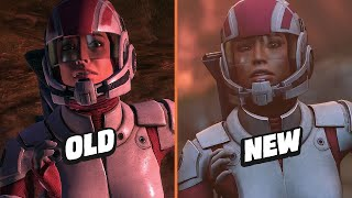 Mass Effect Legendary Trailer vs. Original