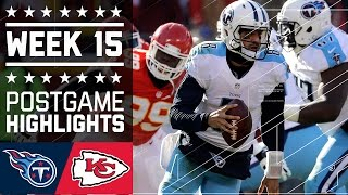 Titans vs. Chiefs | NFL Week 15 Game Highlights