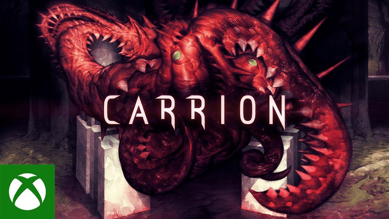 Анонсирующий трейлер игры Carrion