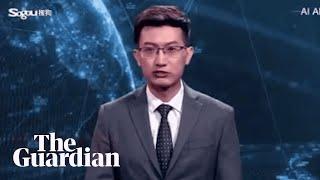 أول نشرة أخبار يقدمها روبوت بتقنية الذكاء الصناعي