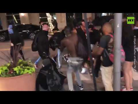 Store defense goes wrong | Man beaten by looters during Dallas riots