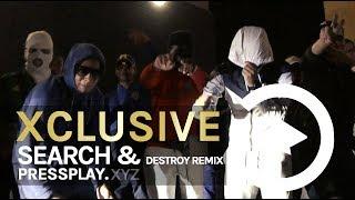 Hyena Ft Kempi X MiniTrapper   Search & Destroy Remix (Music Video)