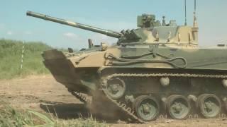 Испытания БМД-4М выпускающихся для ВДВ РФ на «Курганмашзавод»
