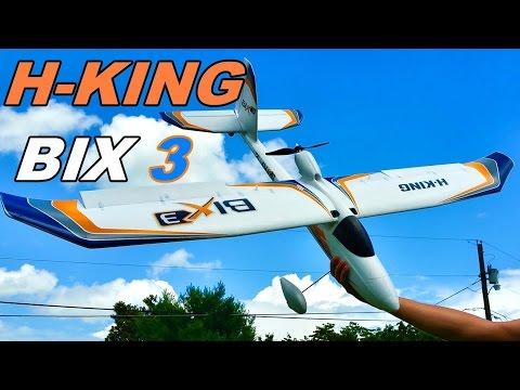 HobbyKing Bix3 RC Trainer Plane Review & Camera Mounted Flight – Bixler 3 – TheRcSaylors