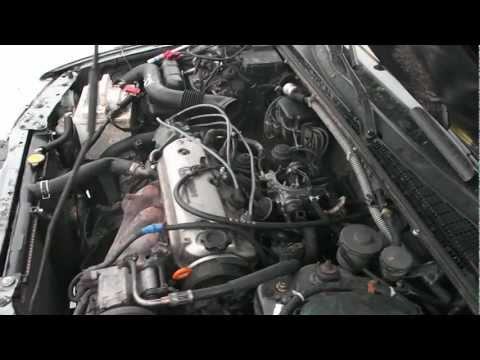 Первый запуск F20A на Honda Accord CB3