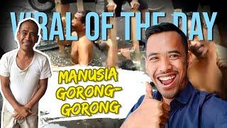 Viral Hari Ini: Sosok Manusia Gorong-gorong asal Bandung yang Viral saat Menyelam di Air Kotor